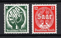 1934 Third Reich, Germany (Full Set, CV $120, MNH)