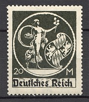 1920-21 Germany Bayern Bavaria (Type II СМ $250, MNH)