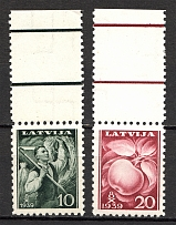 1939 Latvia (Full Set, MNH)