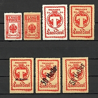1919-21 Tyrol Austria Local Post (Full Set)