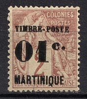 1891 01c Martinique, French Colonies (Full Set, CV $10)