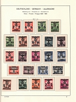 1939-40 Germany General Government (2 Scans, CV $200, Full Sets, MNH)