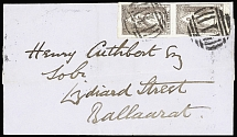 1856-1970 Attractive and valuable selection of 567 covers and cards, with mostly