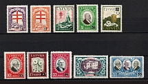 1931 Latvia (Full Set, CV $120)