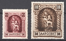 1925-34 Saar Germany (CV $90, MNH)