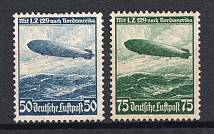 1936 Third Reich, Germany Airmail (Full Set, CV $65)