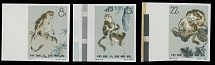 People's Republic of China, 1963, Snub-Nosed Monkeys, 8f-22f