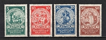1924 Third Reich, Germany (Mi. 351-354, Full Set, CV $210, MNH)