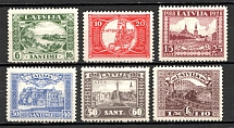 1928 Latvia (CV $30, Perf, Full Set, MNH)