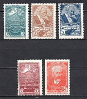 1940 USSR The 100th Anniversary of the Chaikovskys Birthday (Full Set, MNH)