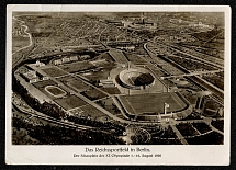 1936 The Reichs Sports Field in Berlin, Olympic Games