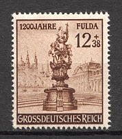 1944 Germany Third Reich (Spot on the Step, CV $45)