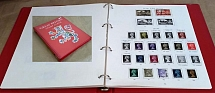 Accessories SG GB One Country Album vgc pages 1840-1971 (incl range of stamps -