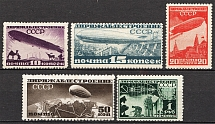 1931 USSR Airship Constructing (Full Set)