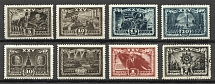 1943 USSR 25th Anniversary of the October Revolution (Full Set, MNH/Cancelled)