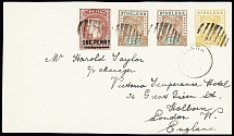 1897-1955 BRITISH WEST INDIES: Attractive selection of 118 covers and cards show