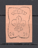 1946 Scouts Displaced Persons Camp Monchehof `24` (UNIQUE, ONLY 344 Issued)