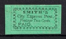 2c `Smith's` City Express Post, USA, Local