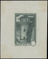 1959, Novodevichy Convent, die proof of unissued design with no value indicated
