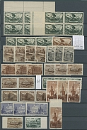 Soviet Union COLLECTION OF 1946 YEAR, about 450 mostly mint stamps