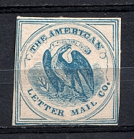 (5c)? `The American Letter Mail Co`, USA, Local