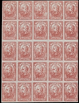United States, LOCAL STAMPS-SWARTS' CITY DISPATCH POST, NEW YORK, N.Y.: 1849, 2c