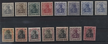 1905. German Reich. No. 83I-93I, *. Series plus stamp 20 pf in three more colors