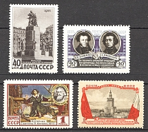 1955 Anniversary of the USSR-Polish Tready of Friendship (Full Set, MNH)