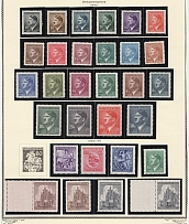Bohemia and Moravia Collection (8 Scans, Full Sets, MNH)