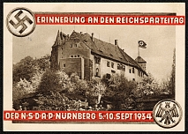 1934 Reich party rally of the NSDAP in Nuremberg, Nuremberg Imperial Castle