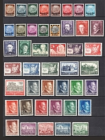 1939-43 General Government, Germany (2 Scans, Full Sets, CV $35)