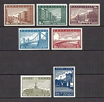 1939 USSR The New Moscow (Full Set, MNH)