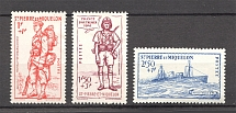 1941 St. Pierre & Miquelon French Colony Airmail (CV $10, Full Set)