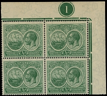 Bermuda, 1920-21, First Tercentenary issue, King George V and Seal of the Colony
