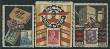 Soviet Union MOSCOW: 1923-29, Tobacco Packs,