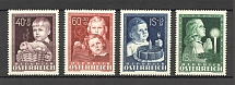 1949 Austria (CV $80, Full Set, MNH)