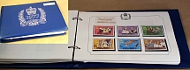Collections/Mixed Lots 1977 Silver Jubilee omnibus set um incl m/sheets, range b