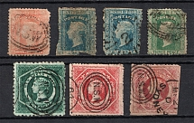 1860-72 New South Wales, British Colonies (Canceled, CV £140)