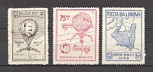 1939 Ukraine Poland Lviv Ballon Post