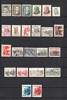 1952 Czechoslovakia Collection (Full Sets, 2 Scans, CV $60, MNH/MH)